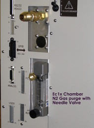 N2 Gas Purge with Needle Valve